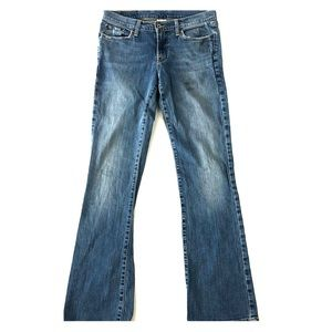 Lucky Brand Boot Cut Mid Rise Medium Wash Jeans